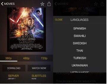 movie box con subtitulos