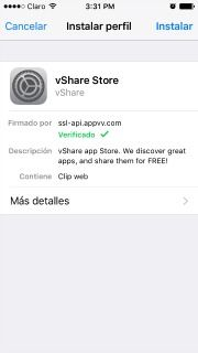 perfil iphone